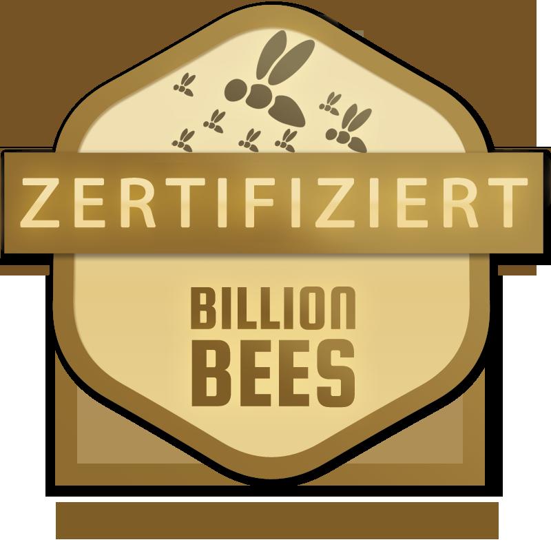 Zertifizierte Bienenpatenschaft für mehr Bienen.